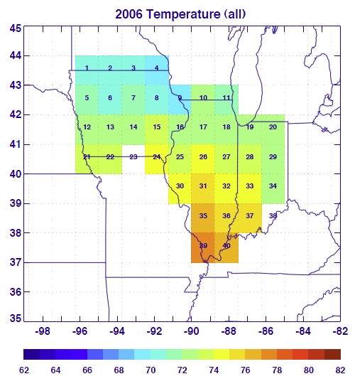 2006 Surface Temperature (All)